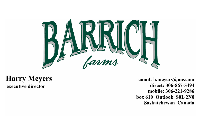 Barrich New Ad